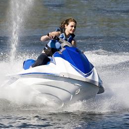 girl on jetski