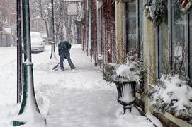 business snow shovel
