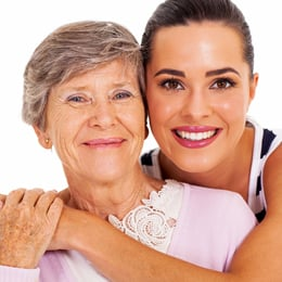bigstock happy senior mother and adult  41561302