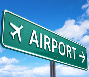 bigstock Airport direction road sign 48224462