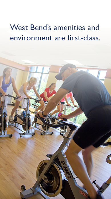 West Bend Fitness Center, Spin Class