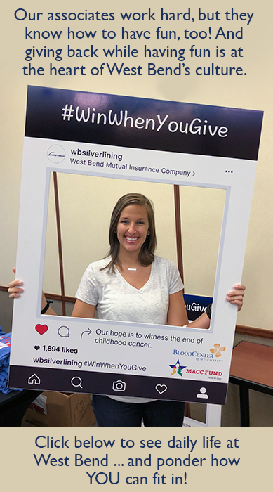 West Bend Mutual Insurance Associate Blood Drive