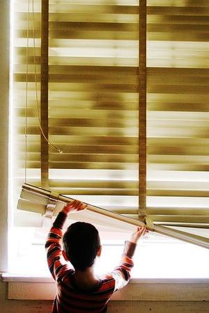 Window Blind Strangulation