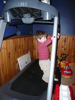 Kids Hurt on Treadmill