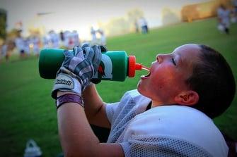Boy Hydrating