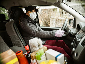 Insurance coverage while making deliveries