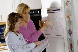 Organizing back to school schedules