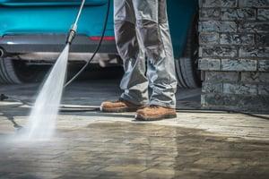 Pressure washing safety tips