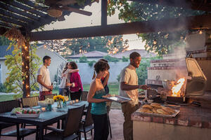 Tips for building a grill station