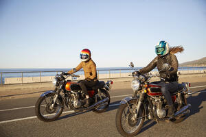 Tips for first motorcycle ride in spring