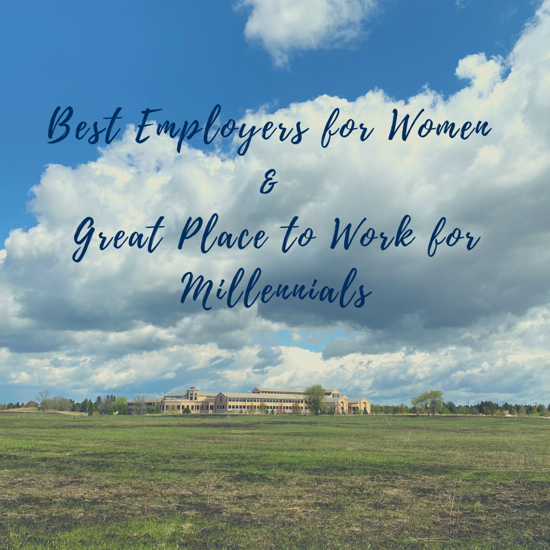 best employers for women & great place to work for millennials