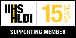 15-years Supporting Memeber IIHS HLDI logo