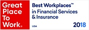 Great Place To Work in Financial Services & Insurance 2018