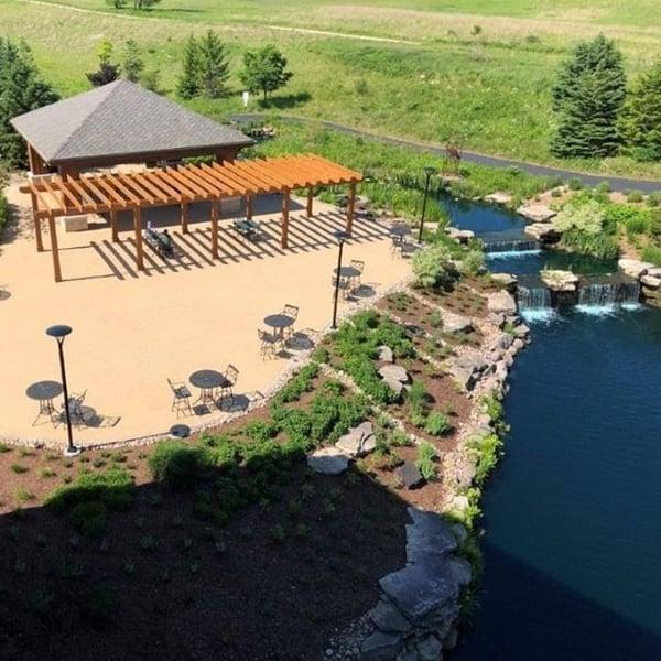 prairie garden pavilion